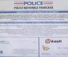 virus police nationale - Ukash Coulonges sur l'Autize